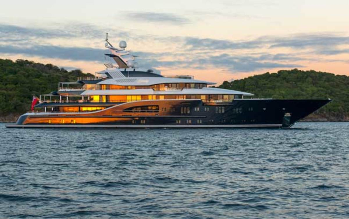 Lürssen's 279-foot Solandge promises guests a definitive experience on the water.