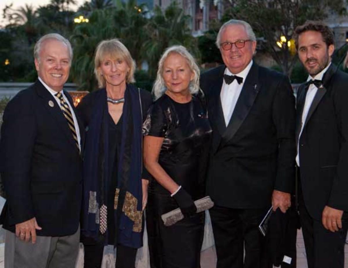 Michael Moore, Lady Pippa Blake, agnès b., Bruno Troublé, Romain Troublé