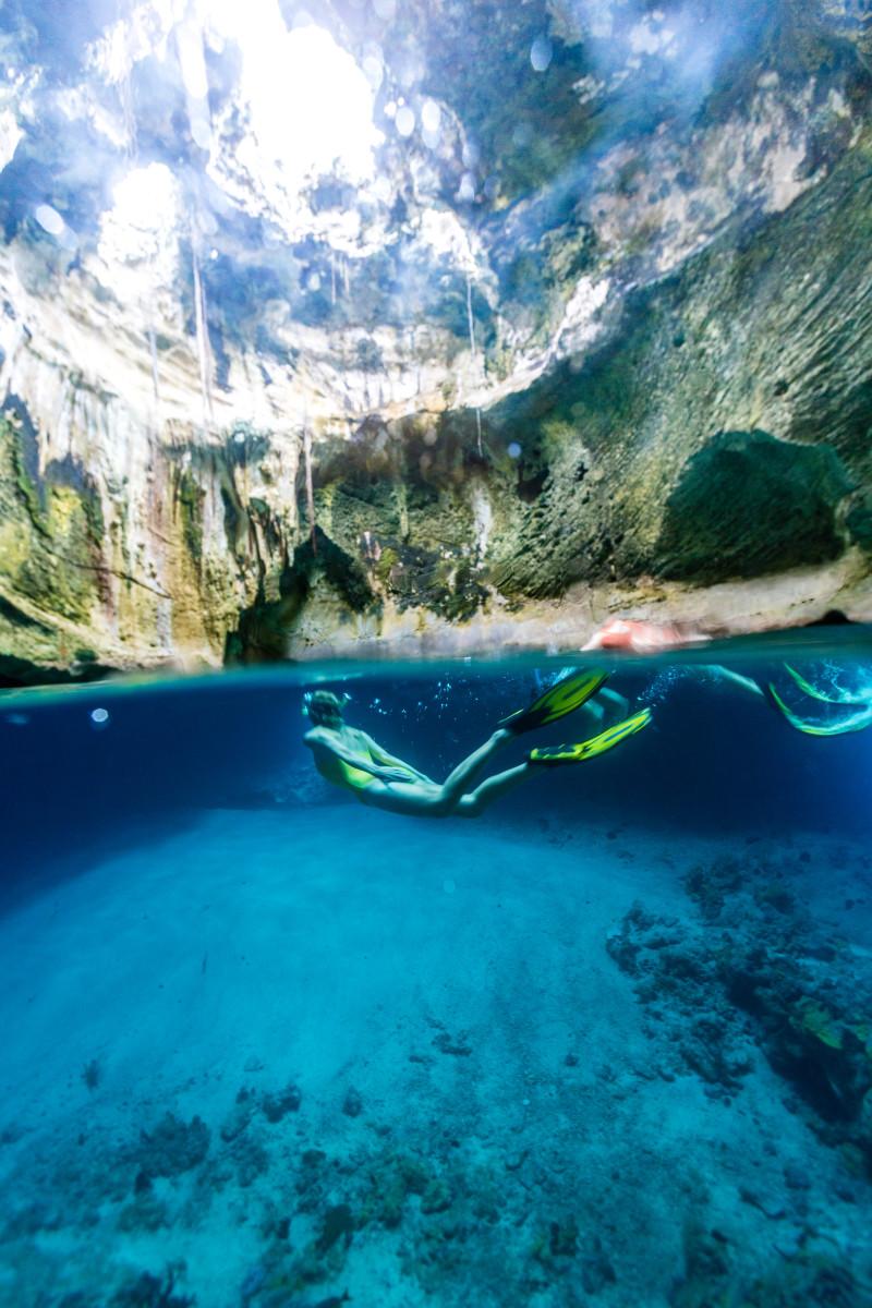 Exumas Remember When diving Thunderball Grotto