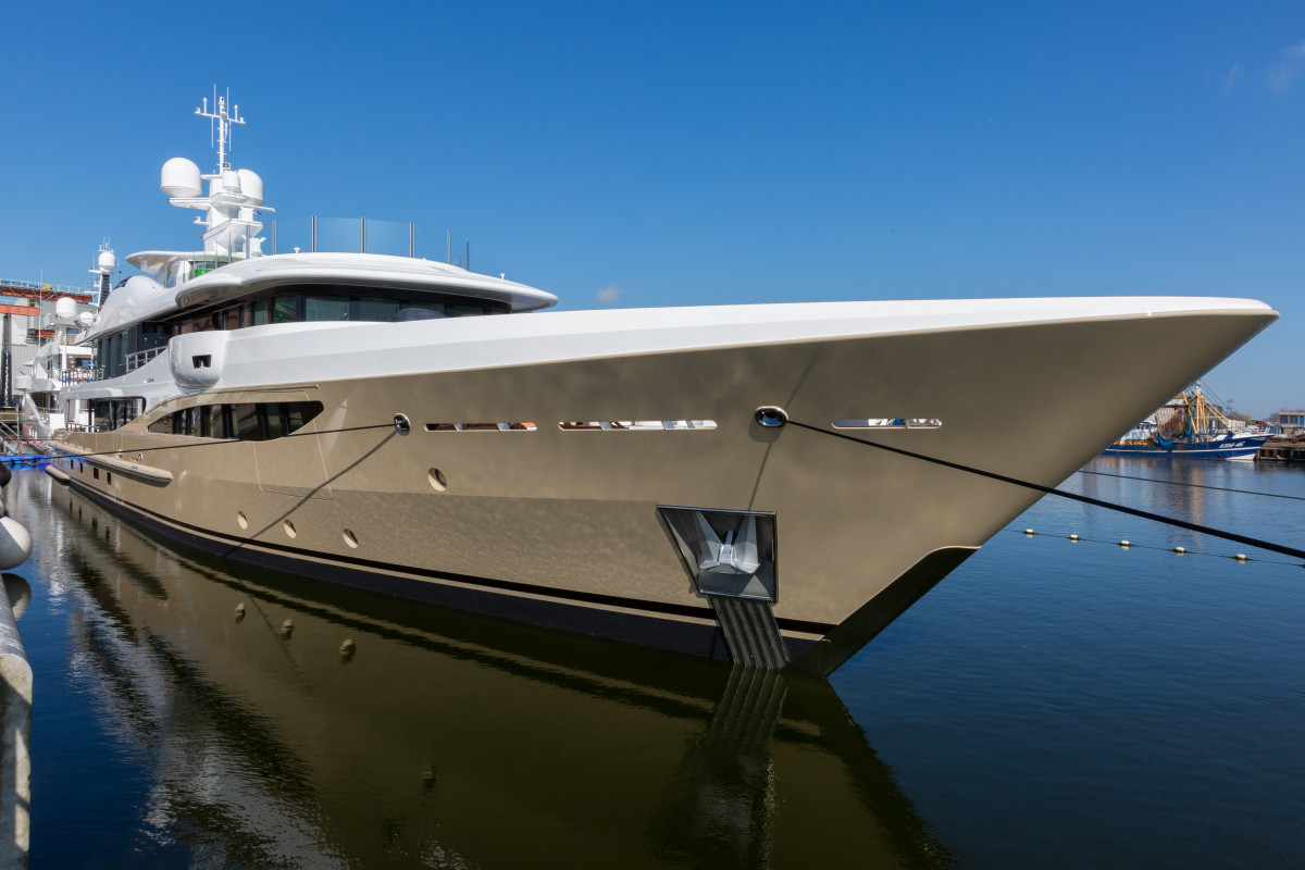 The Amels 180, LILI, is scheduled for delivery in June.