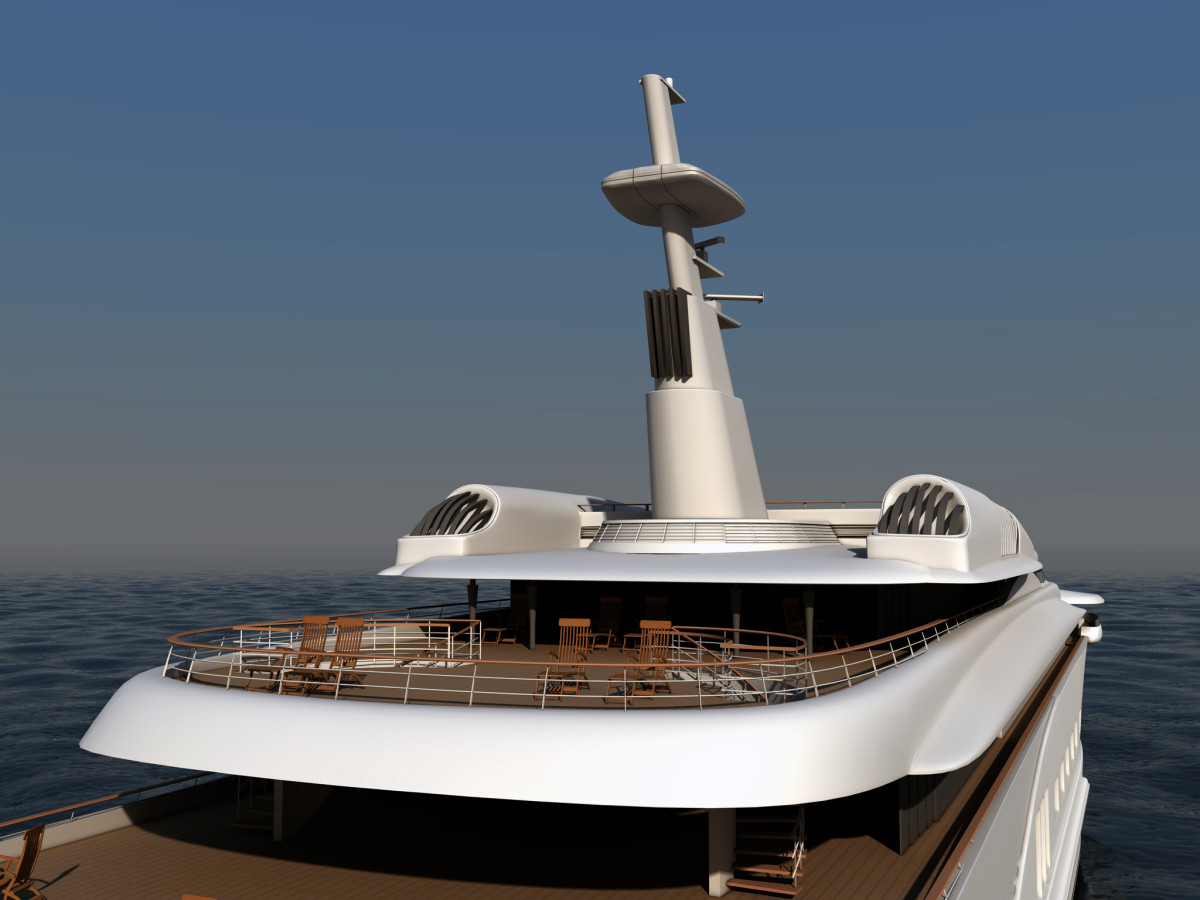 Kymeta's flat-panel satellite antenna eliminates the need for bulky radar domes atop every yacht.