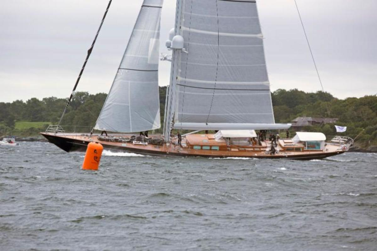S/Y Action is winner of Class A Winner in the 2017 Candy Store Cup Superyacht Edition. (Photo by Billy Black)