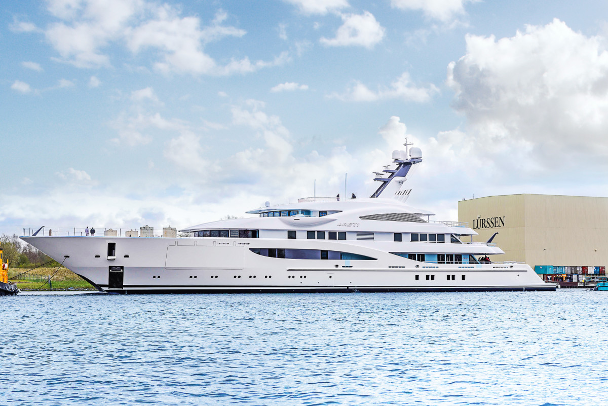 At time of press, Lurssen's 85-meter M/Y Areti was in the final stages of PYC certification.