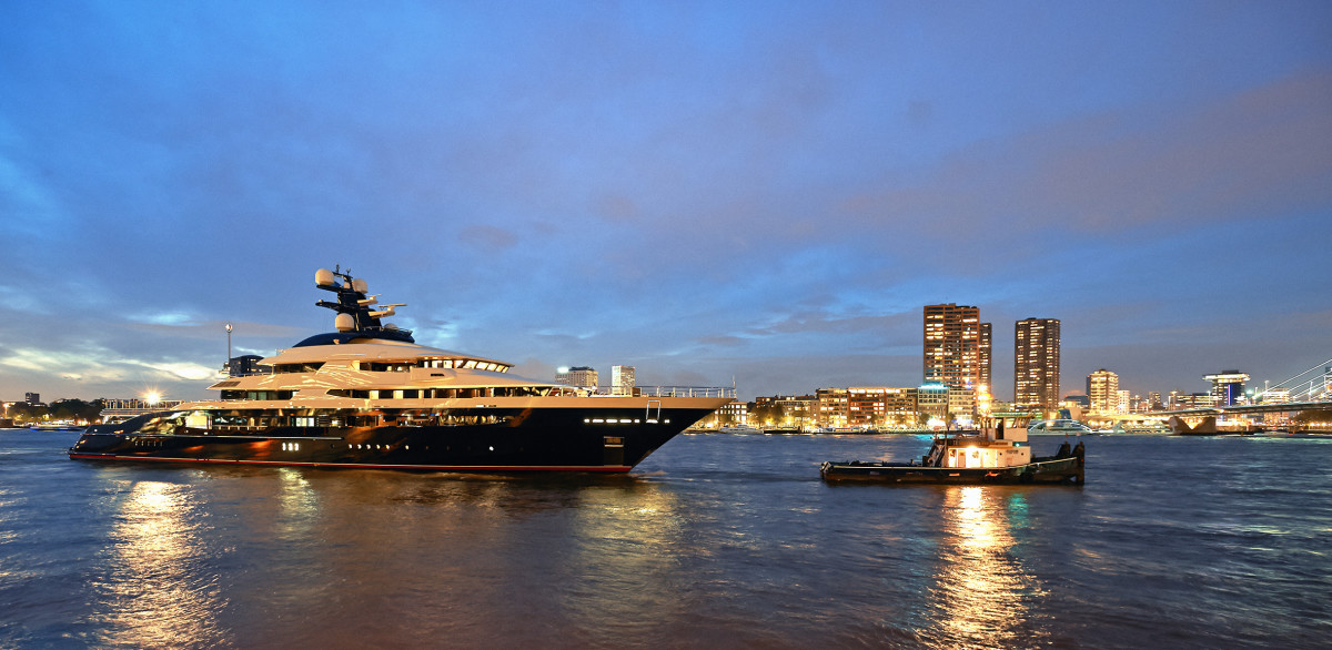 Oceanco's 300-foot (91.5-meter) M/Y Equanimity was the first superyacht to be designed and constructed in compliance with PYC, although she later reregistered as a private vessel.