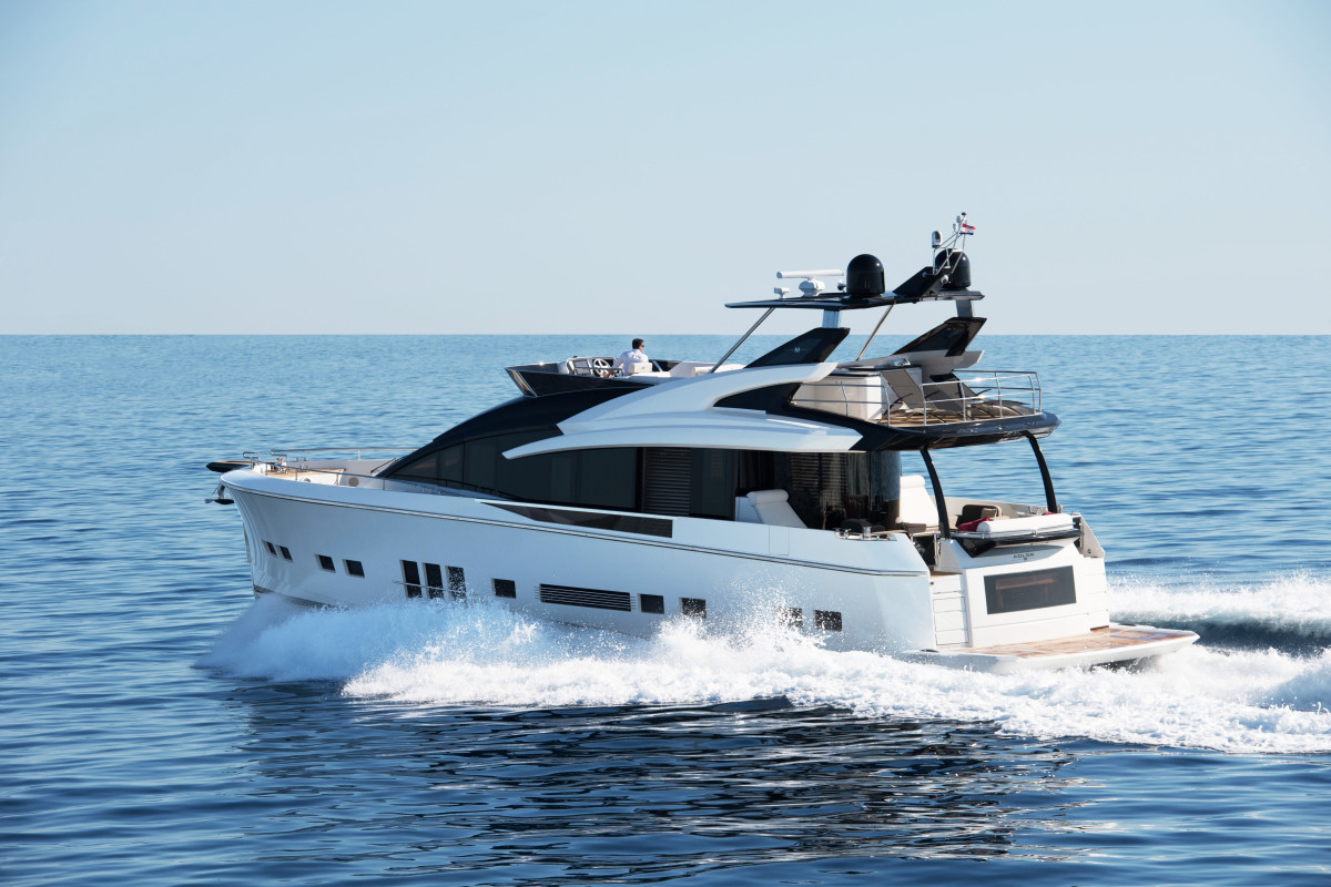 The Hybrid Marine System delivers emission- and vibration-free propulsion up to 15 knots, with a top speed around 30 knots.