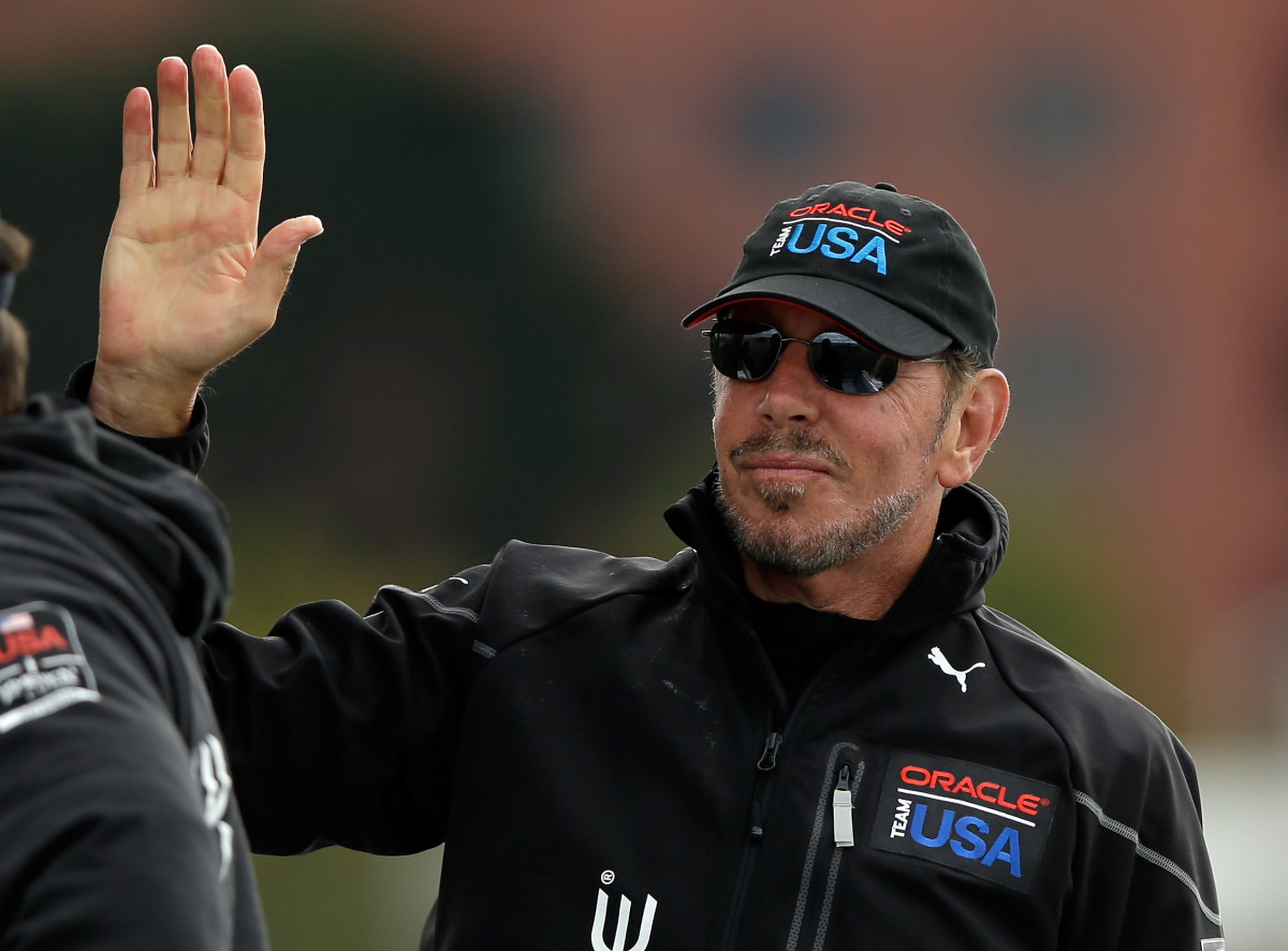 Software tycoon Larry Ellison shaped the America's Cup as we know it today with the introduction of high-performance catamarans.