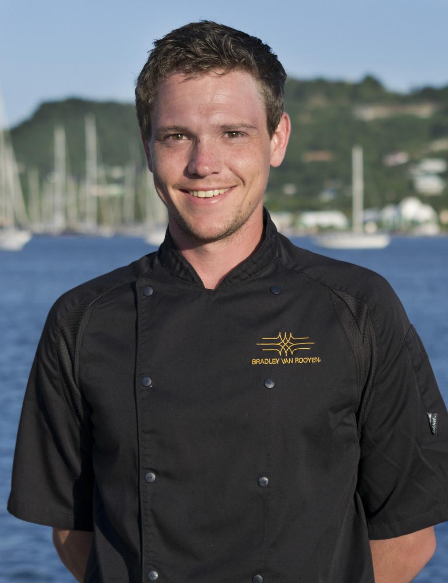 Chef Bradley Van Rooyen