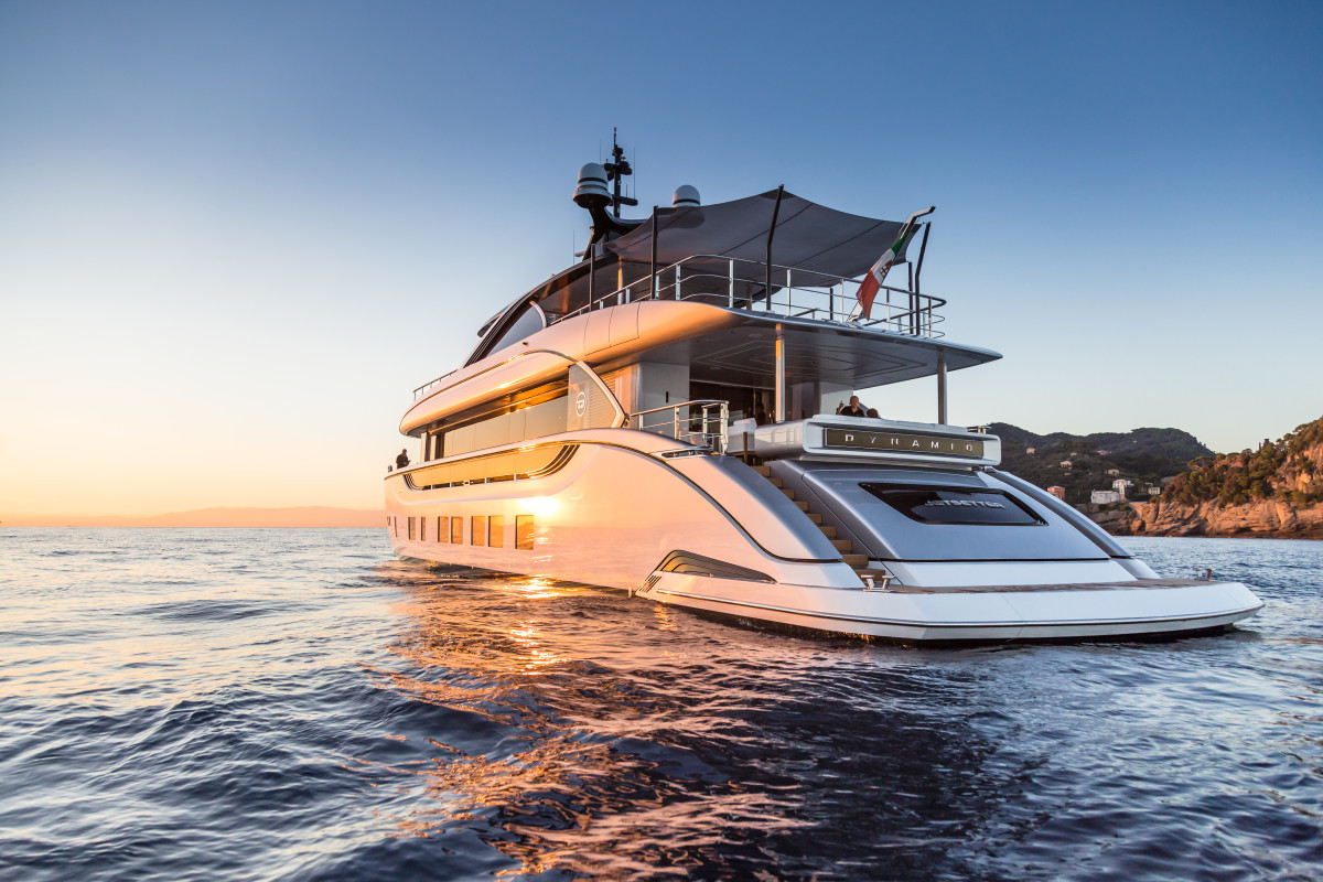 M/Y Jetsetter's contemporary exterior styling and layout is designed to appeal to a new generation of Millennial owners who want 'something new and different.'