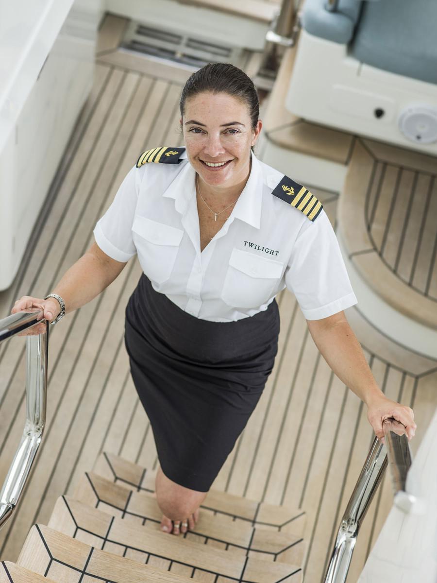 Capt. Kathy Pennington, S/Y Twilight