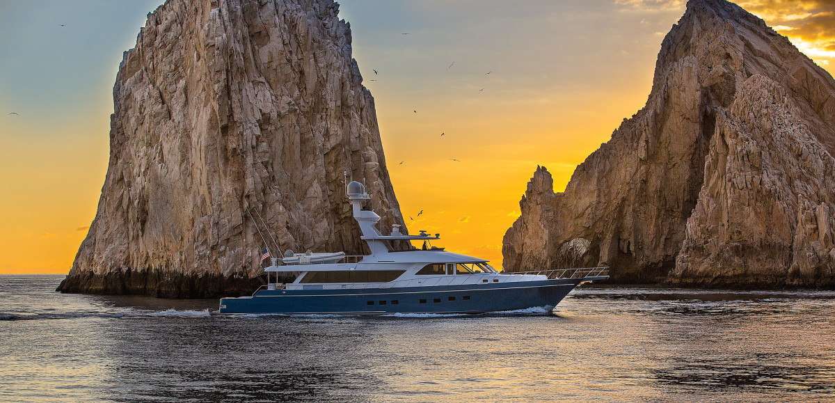 Having spent her maiden voyage in Mexico and Central America, Venture More has returned to the Pacific Northwest to cruise in Alaska before resuming the owners' quest to experience new and distant ports of call. (Photo by Neil Rabinowitz)