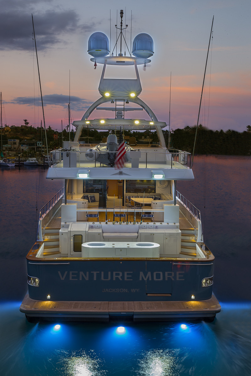 Luxury Yacht Engine Room: The Owners Of The Nordlund 106 M/Y Venture More Now Have A