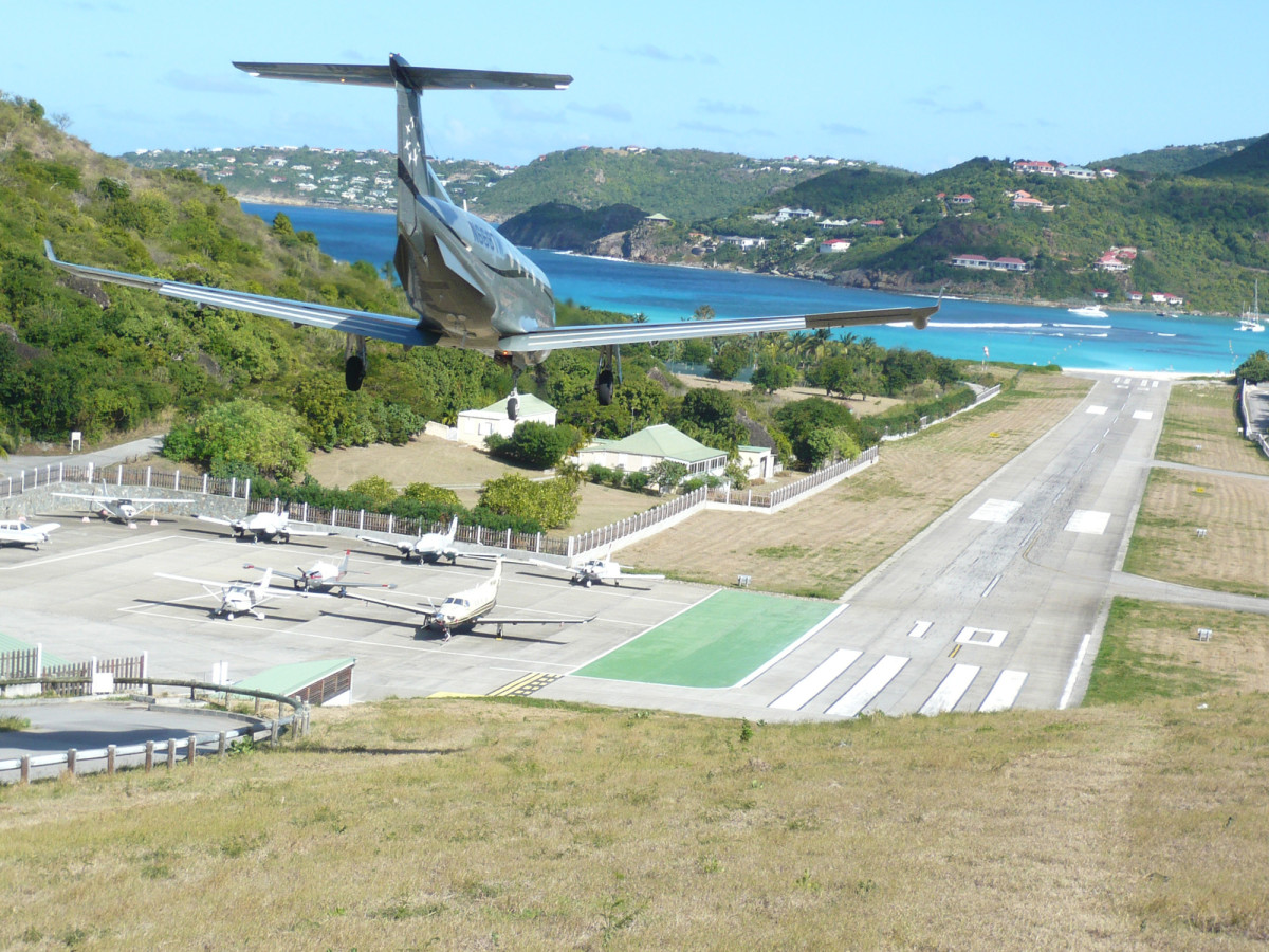 Not for the faint of heart, the St. Barths landing strip is among the most challenging, and thrilling, on the planet.