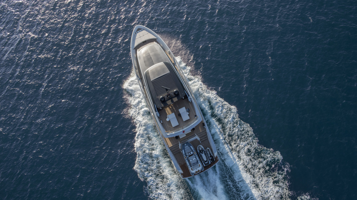 The new Sanlorenzo SX88 takes a crossover concept to the high seas with a version specifically aimed at the U.S. market.