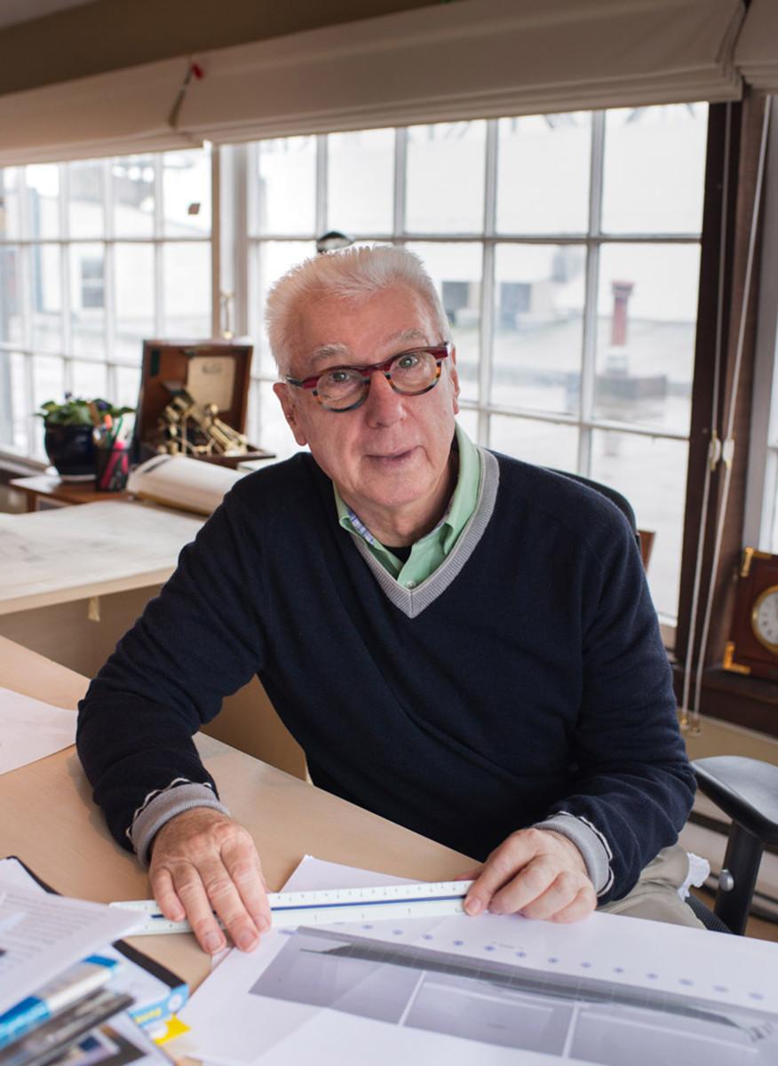 Designer Ron Holland