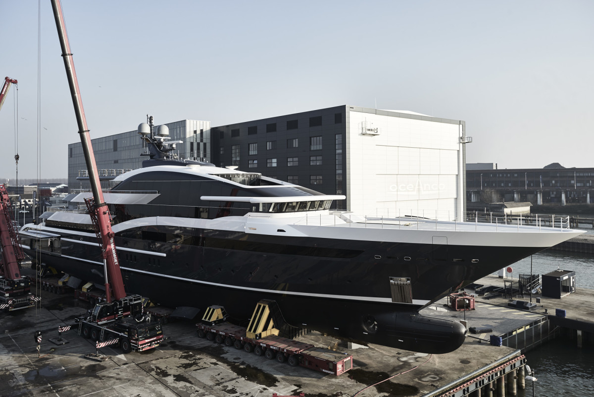Oceanco's Project Shark (Y717)