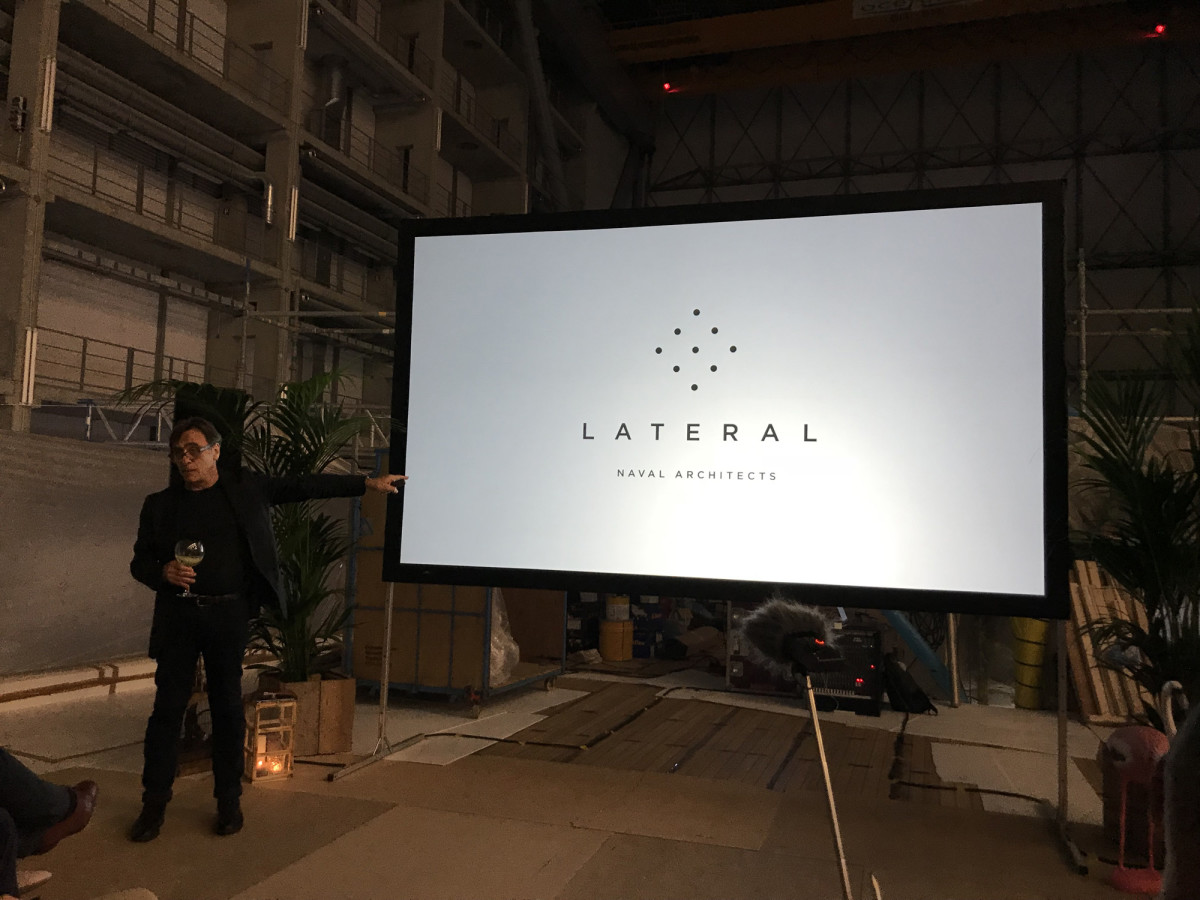 Brand strategist Peter Economidas describes the narrative of the new Lateral brand.