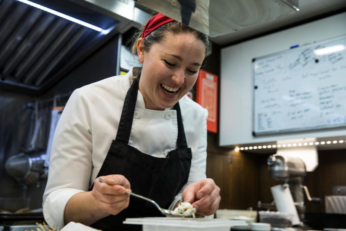 Chef Lauren Everet, S/Y Seahawk