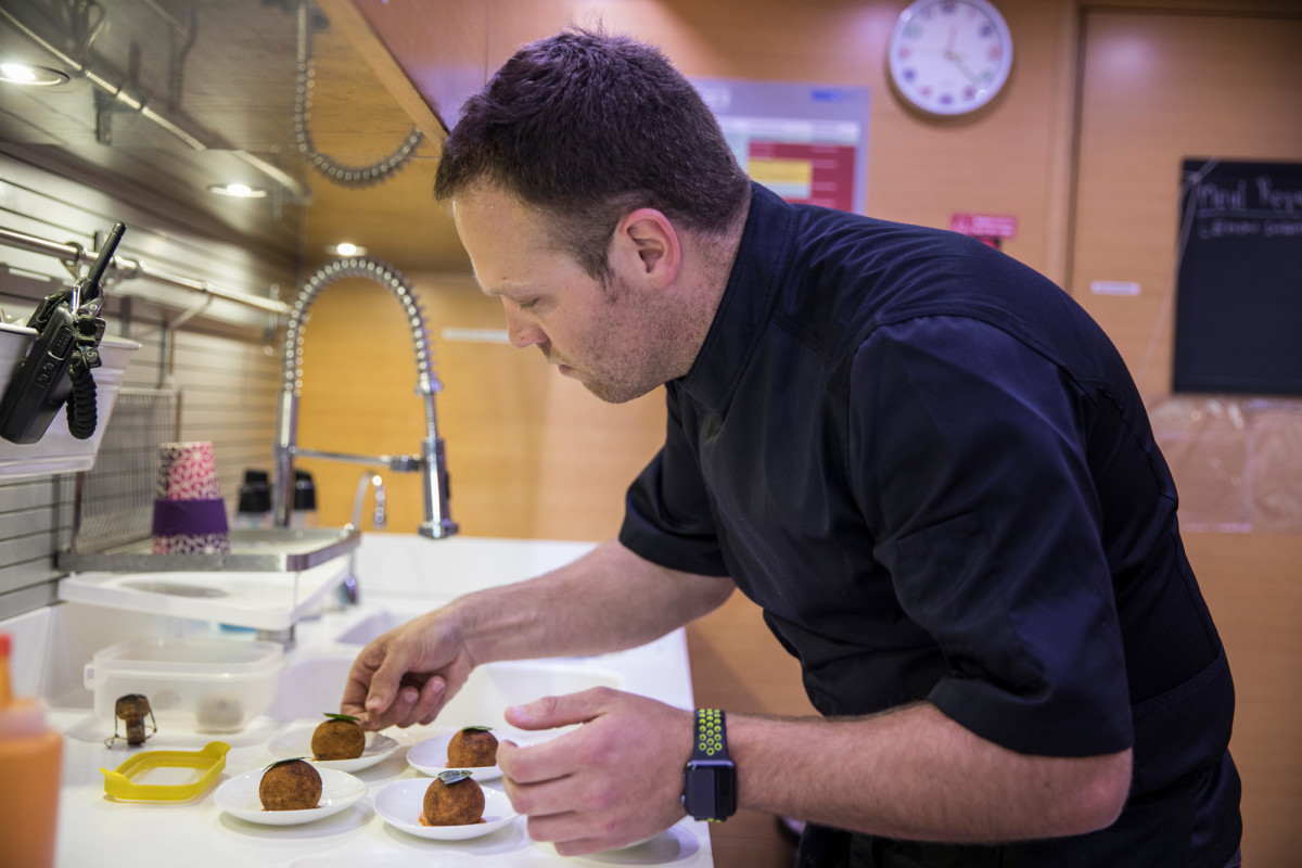 Chef James Wright, M/Y Awol