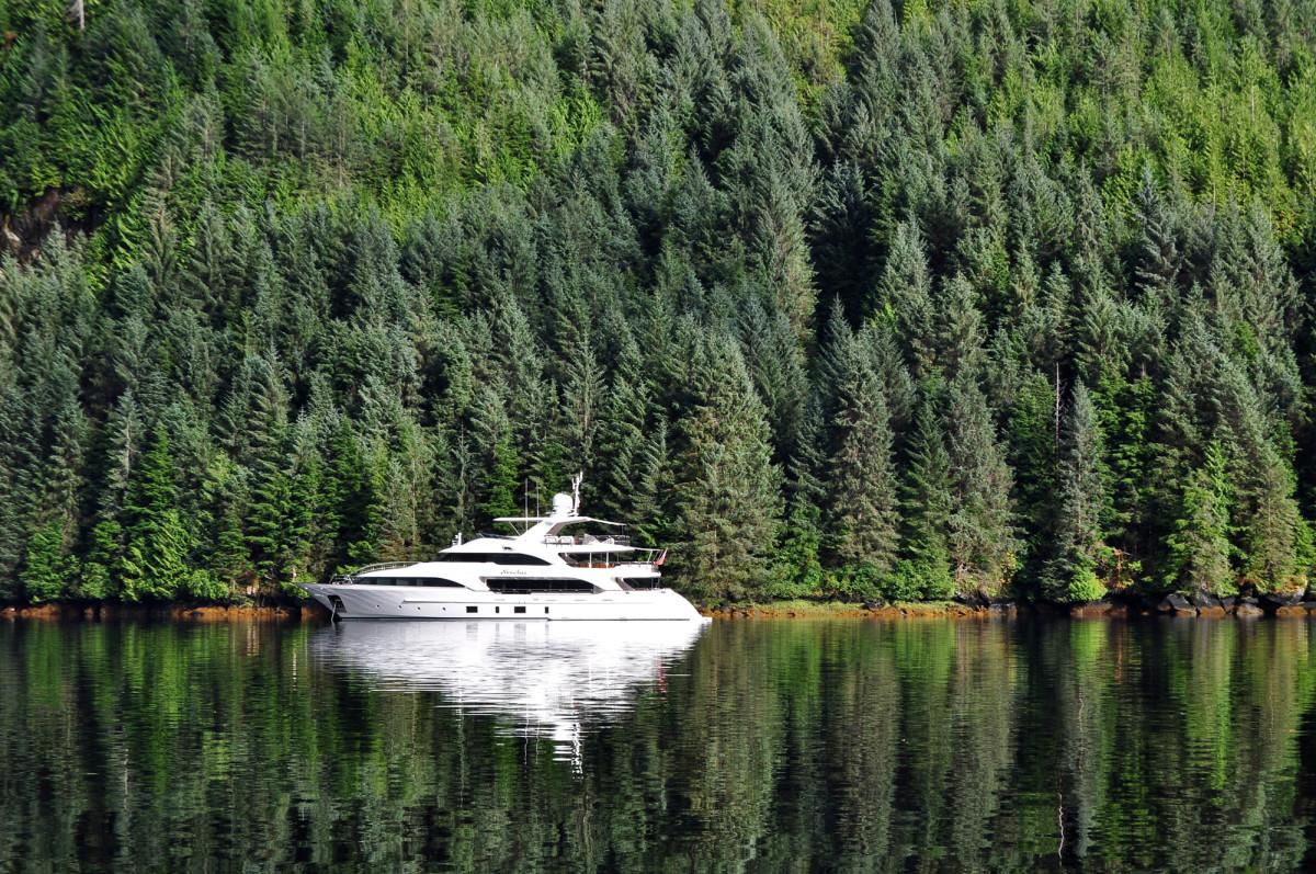 Nomadess spent the summer of 2015 cruising British Columbia and Alaska.
