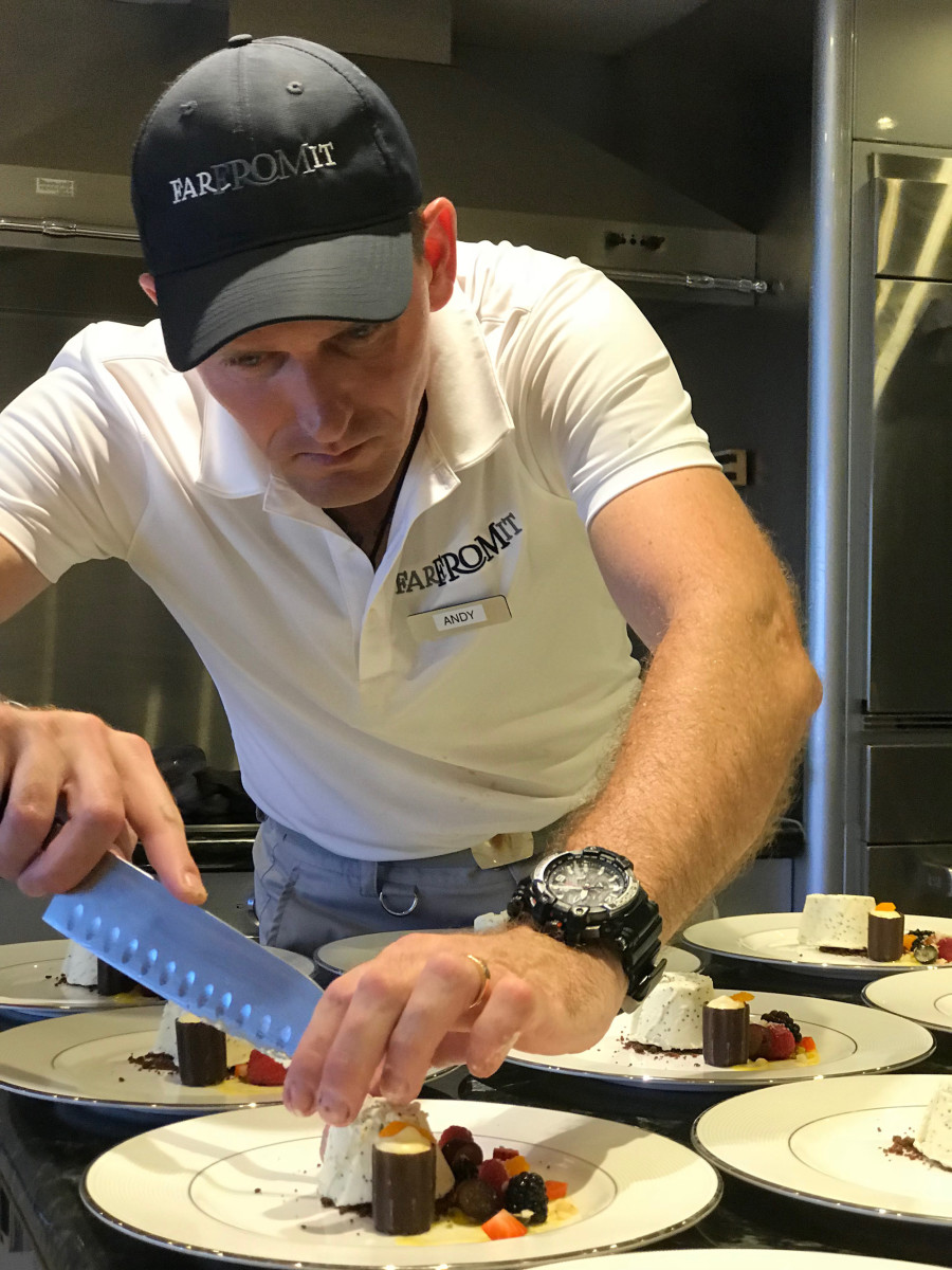 Chef Andreas Orzechowski, M/Y Far From It