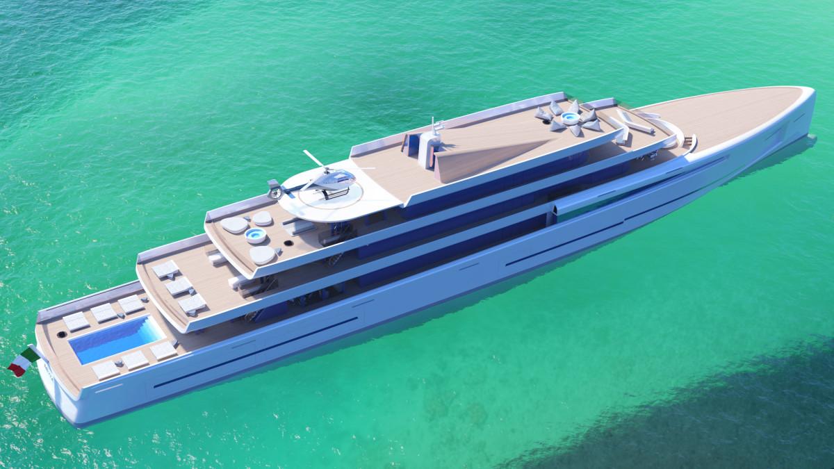 Fincantieri Yachts 106m concept Mirage
