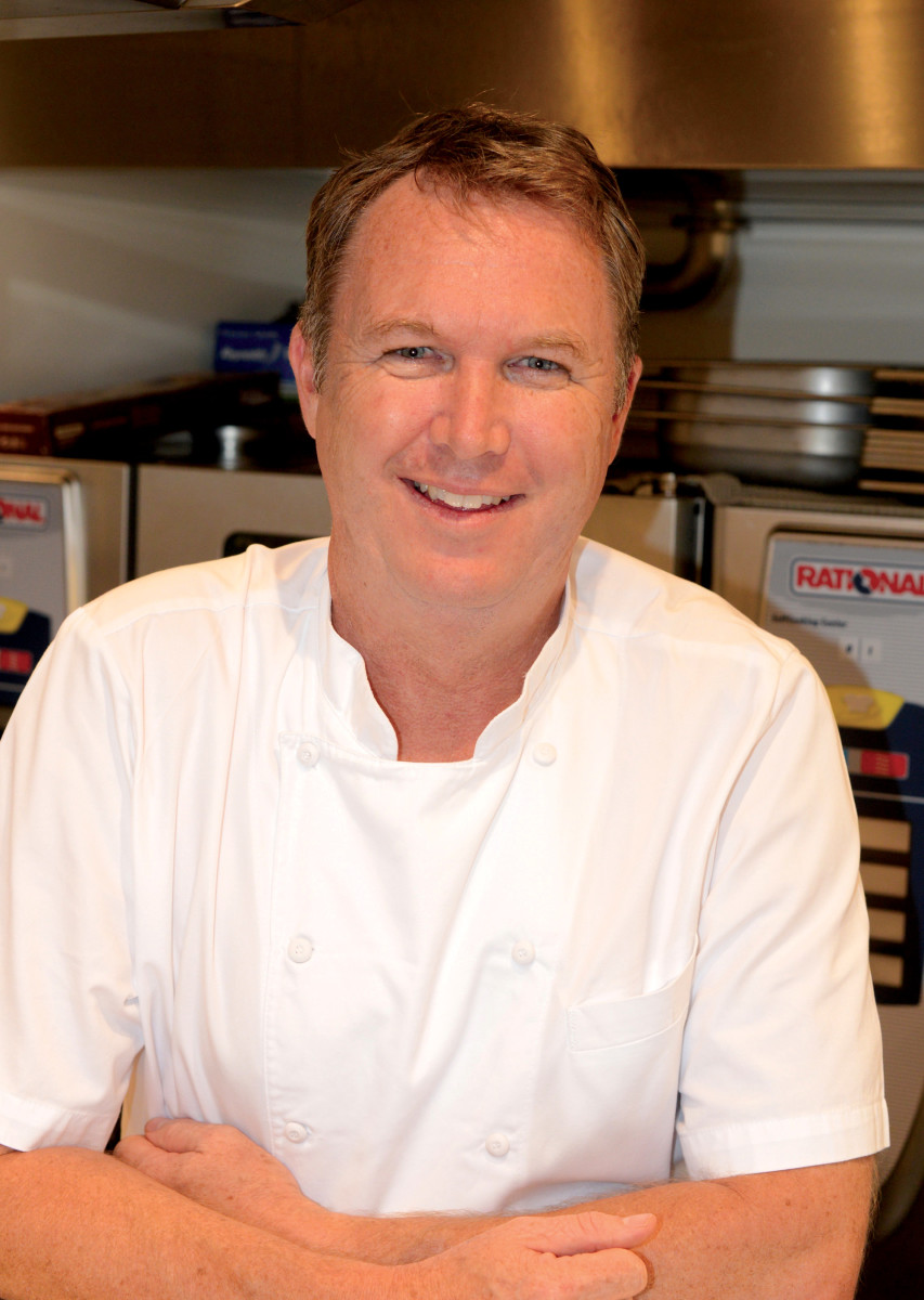 Chef Simon Phillips, M/Y Double Down