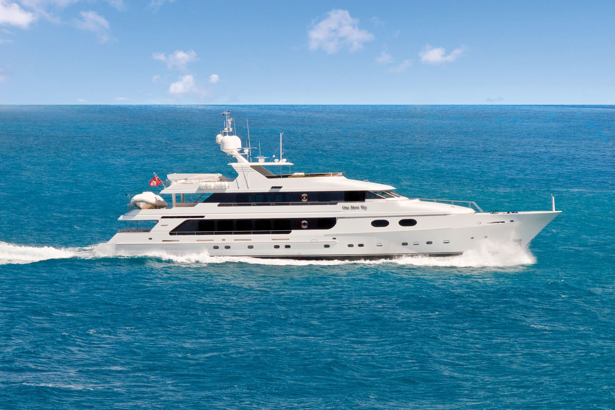 155-foot (47-meter) Christensen M/Y One More Toy