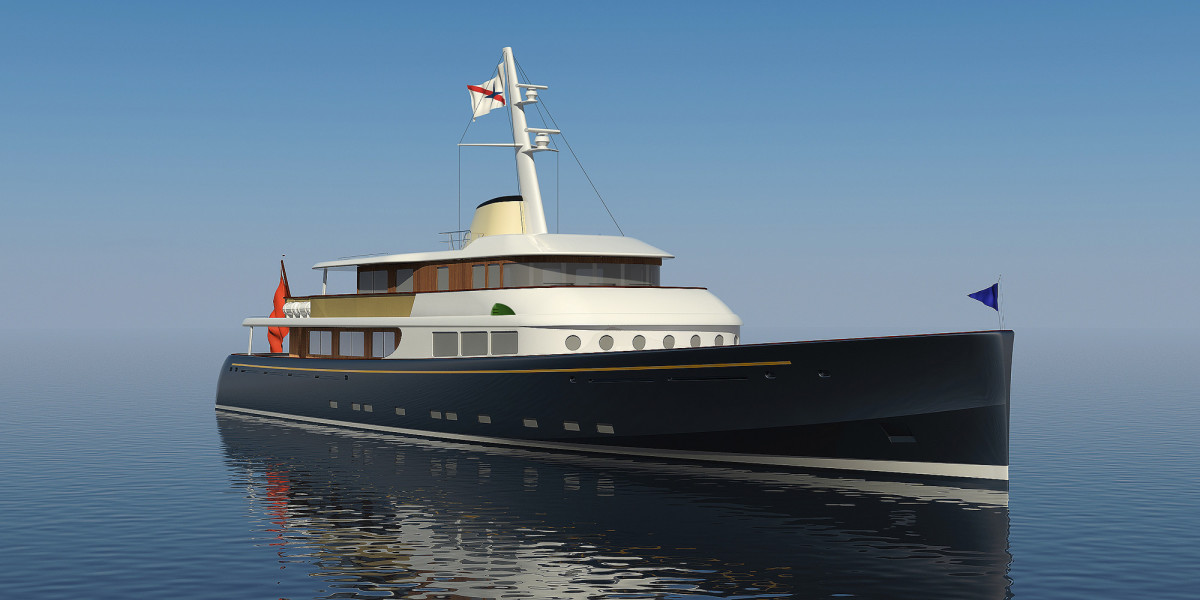 Project Marlin (Royal Huisman, Frers Naval Architecture, Sterling & Co Interior Design)