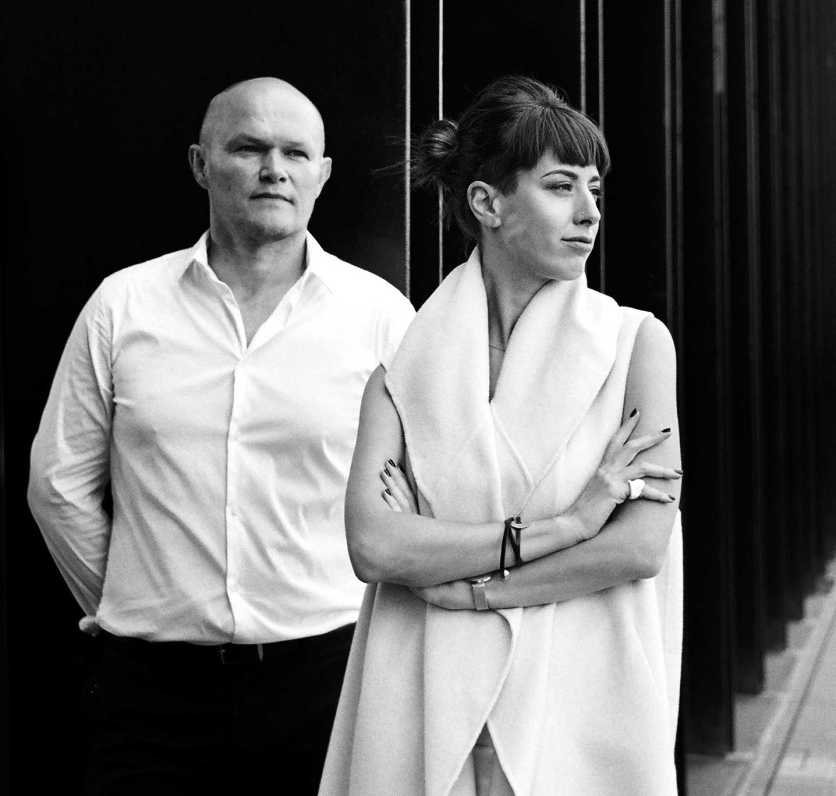 Igor and Yulia Lobanov have 'a 3-D life,' according to Yulia. They are married, raising a young daughter, and working together daily as partners in Lobanov Design.