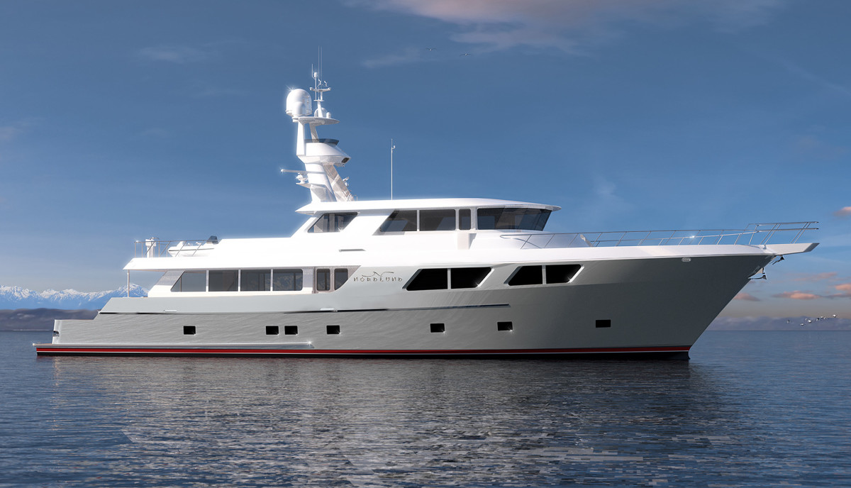 Nordlund's 115-foot expedition yachtfisher.