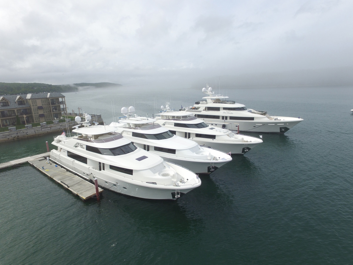 Based in the Pacific Northwest, Westport has found its niche building semi-custom yachts up to 165 feet.