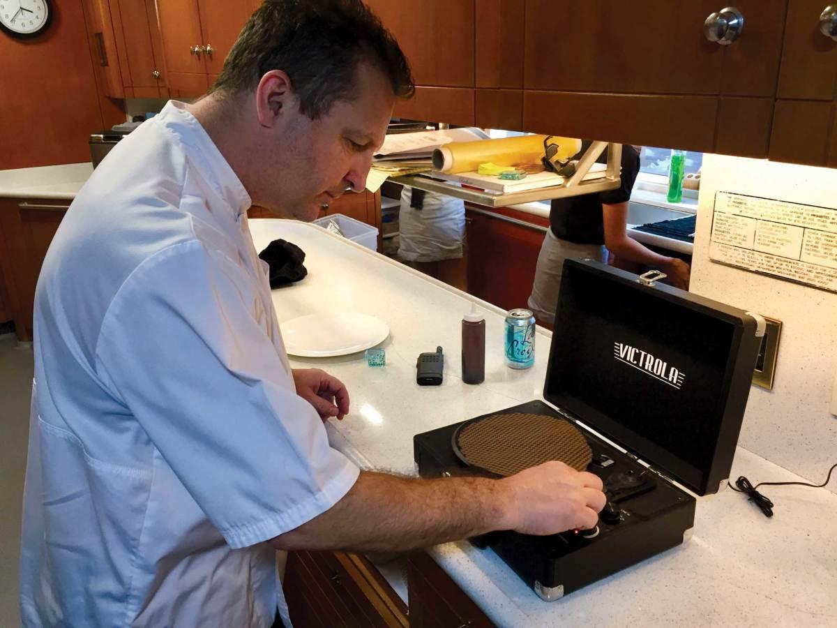 Chef Michael Wilson, M/Y My Seanna