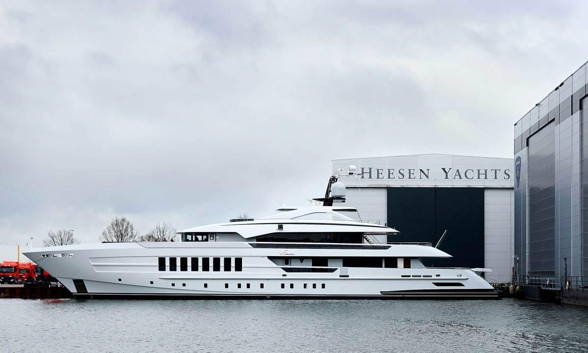 Heesen's 180-foot Steel Class Vida