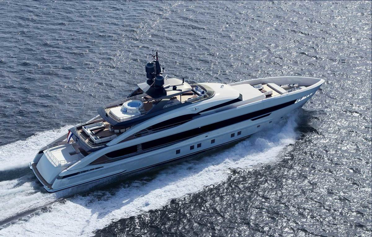 Heesen 164-foot Aquamarine