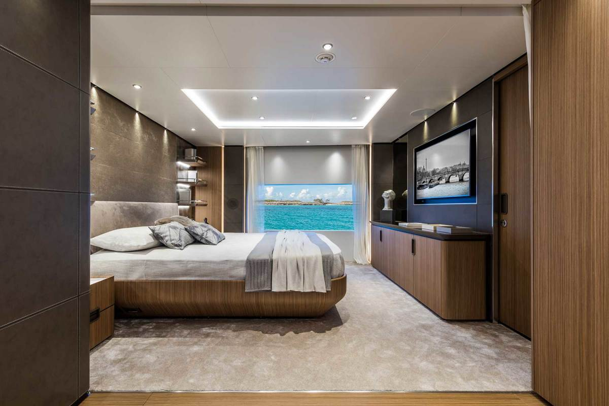 Stunning views from the main deck master suite.