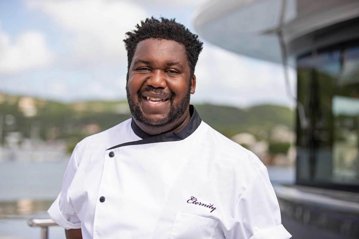 Chef Peter Daniel 'Frostie' Frost, M/Y ETERNITY