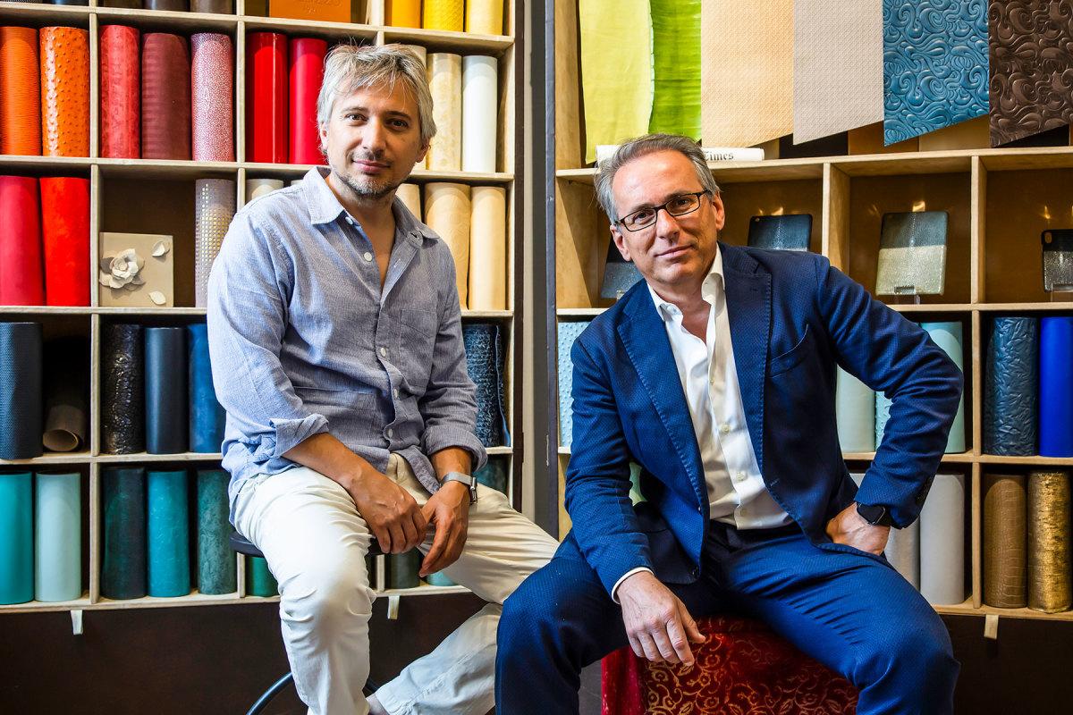 Marco (left) and Paolo Foglizzo.