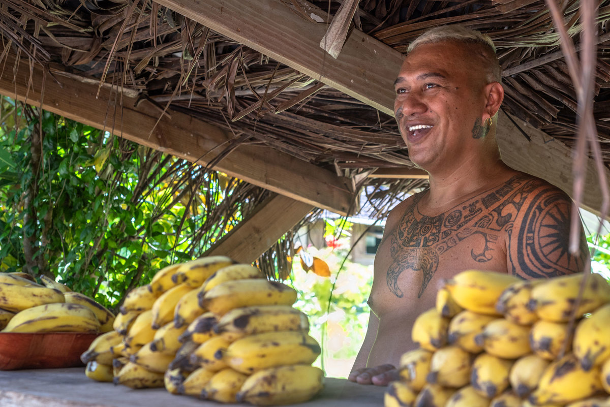 Polynesian people are renowned for their generosity and joy. Nowhere is that more apparent than in the Gambier Islands