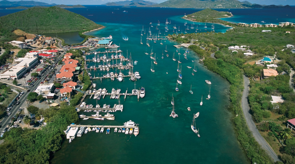 American Yacht Harbor, St. Thomas. Photo credit to IGY Marinas.