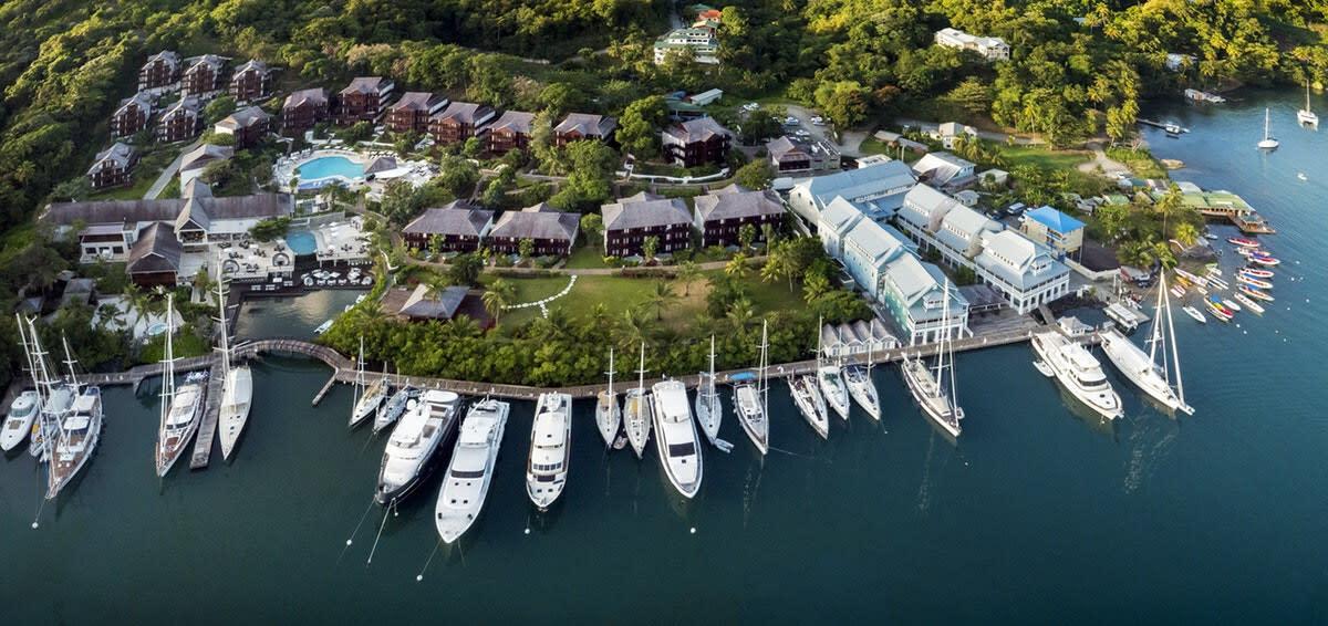 Marigot Bay Marina, St. Lucia