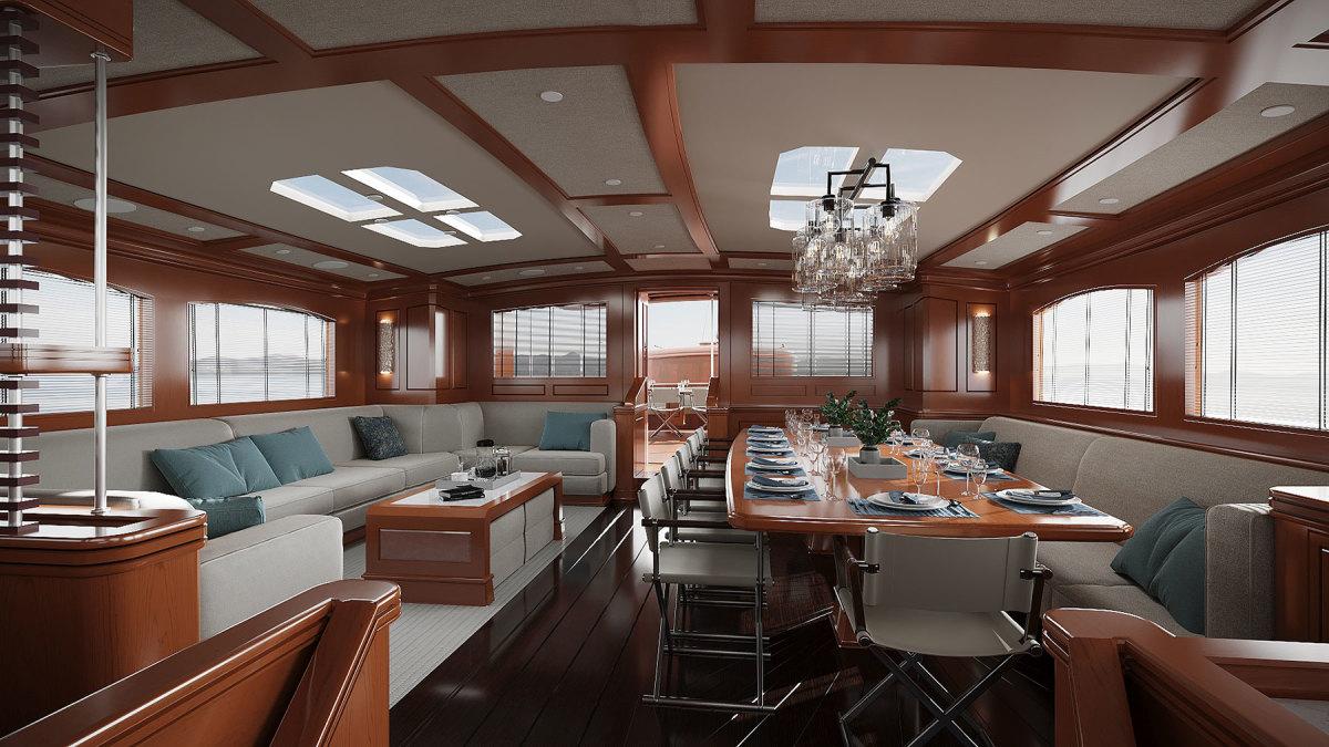Turquoise-Yachts-51m-Rainbow-II---Salon