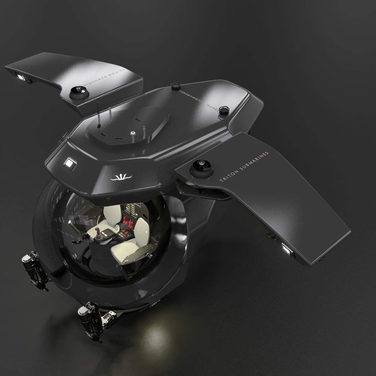 TRITON 13000-2 TE, wings deployed (c)Dark Ocean Design