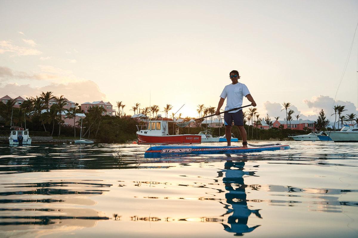 Bermuda_JimmyChin_Paddleboard_Sunset_NOPC
