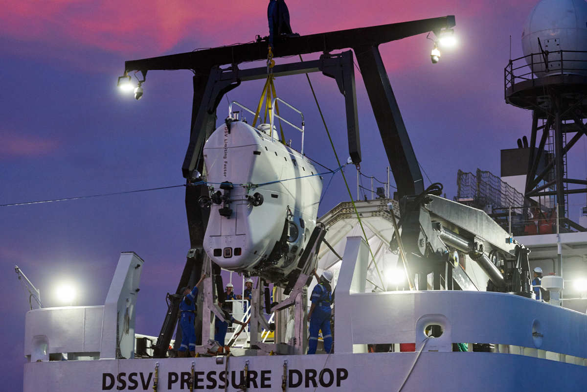 02 DSSV Pressure Drop & DSV Limiting Factor  - Mariana Trench ©ReeveJolliffe