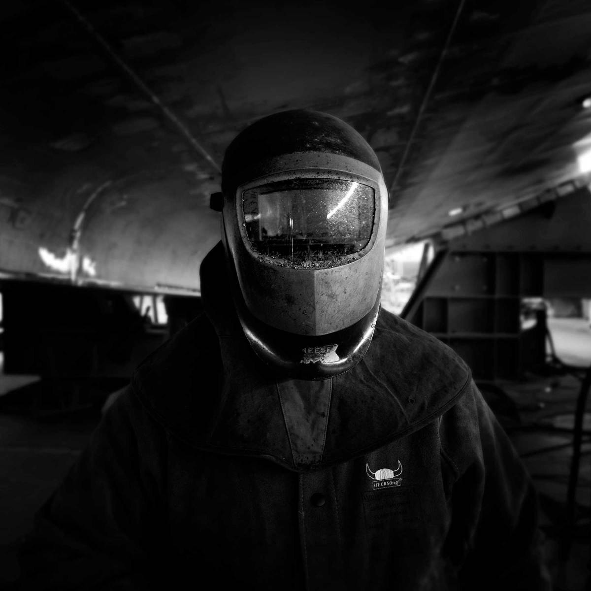 Welding requires a good eye, a steady hand, technical expertise and the ability to focus on the job through a darkened visor for hours at a time.