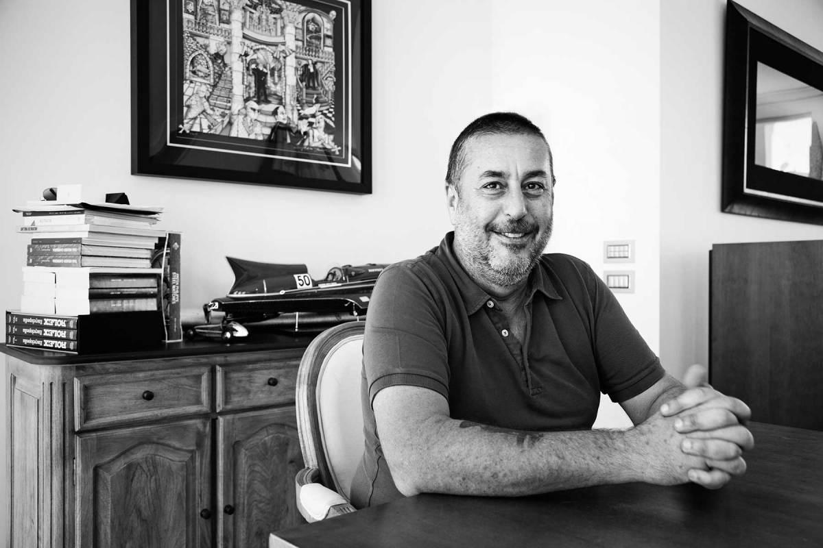 Audace's owner, Andrea Merloni.