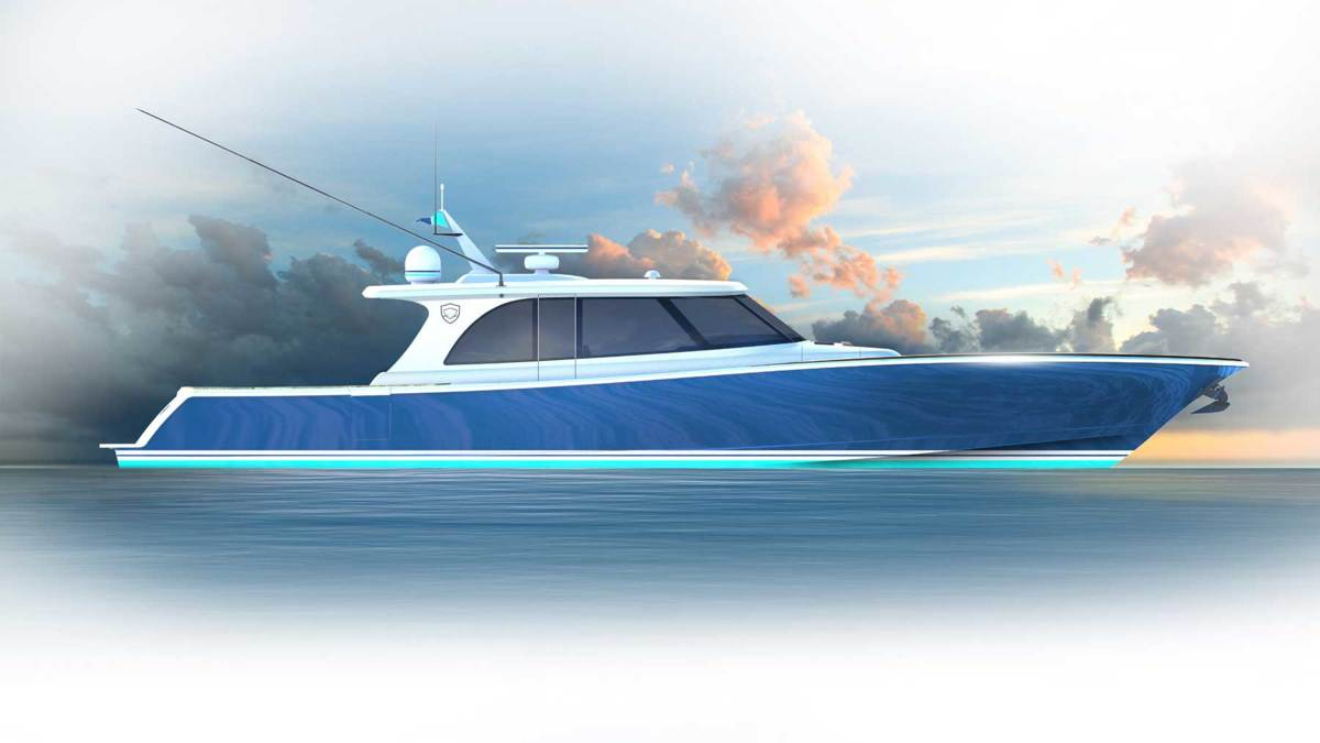 A model with diesel jet drives, conceived as  a potential superyacht tender, is on the way.