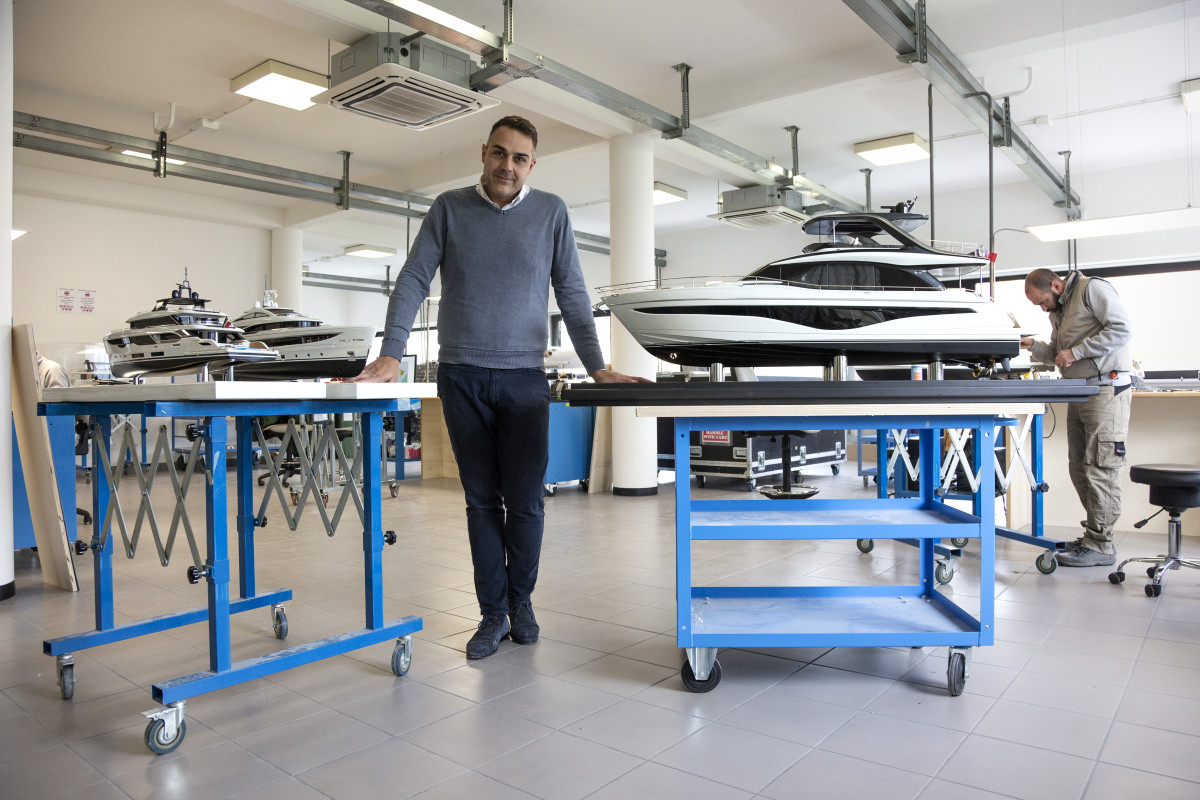 Giuseppe Capobianco turned his passion for model-making into a profession when he founded Model Maker Group.