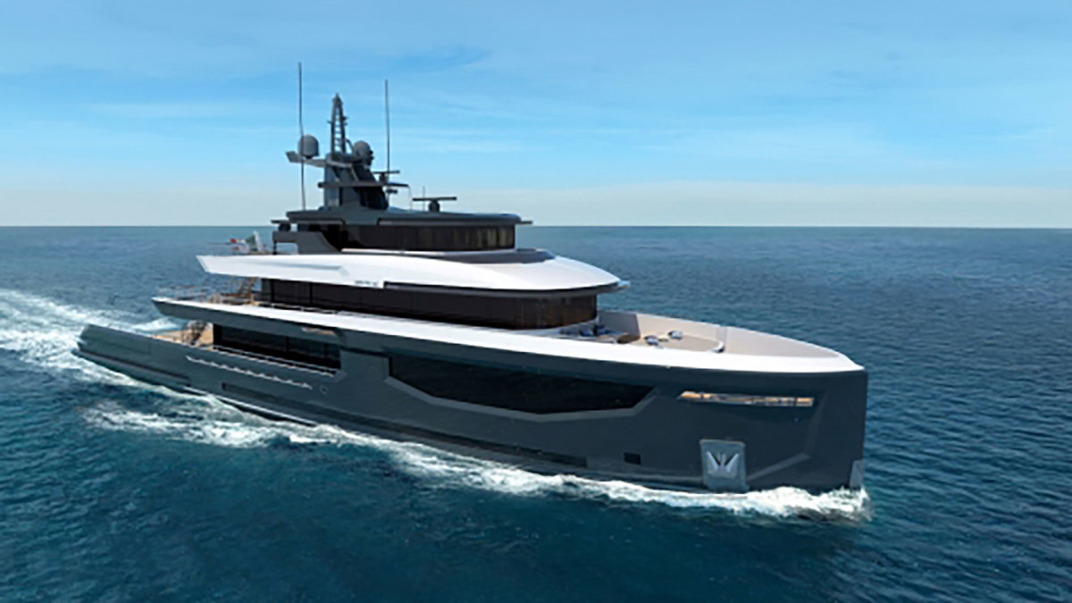 INACE Superyachts Explora 145' by HydroTec