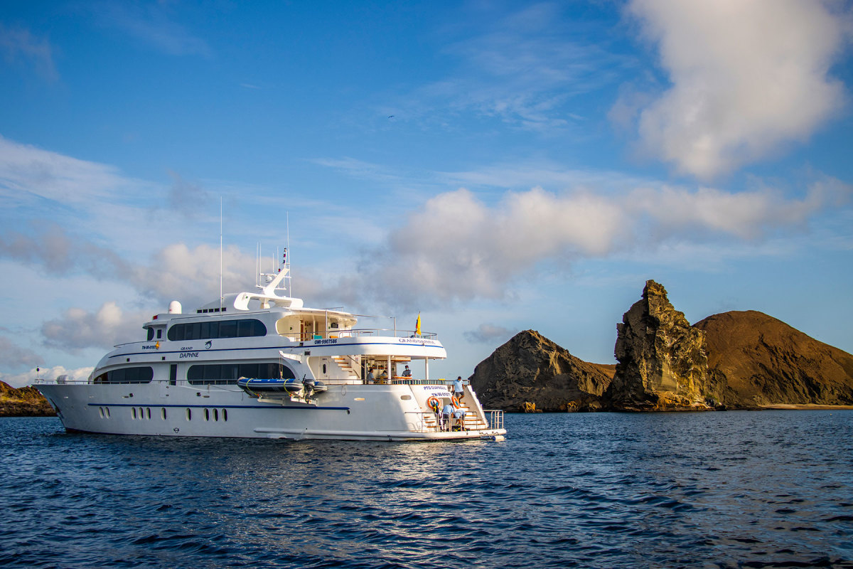 The Grand Daphne was purpose-built for luxury charter